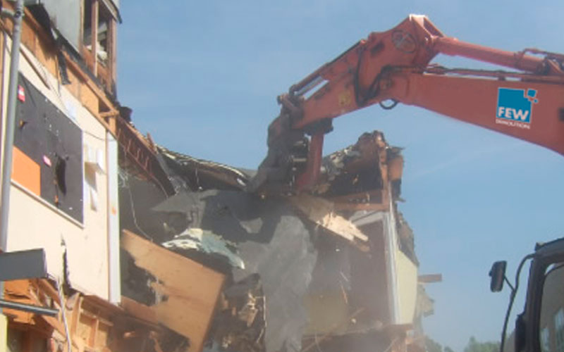 Small Demolition Project : Few demolition undertakes large and small